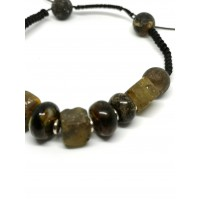 BR14 Corded Amber Bracelet