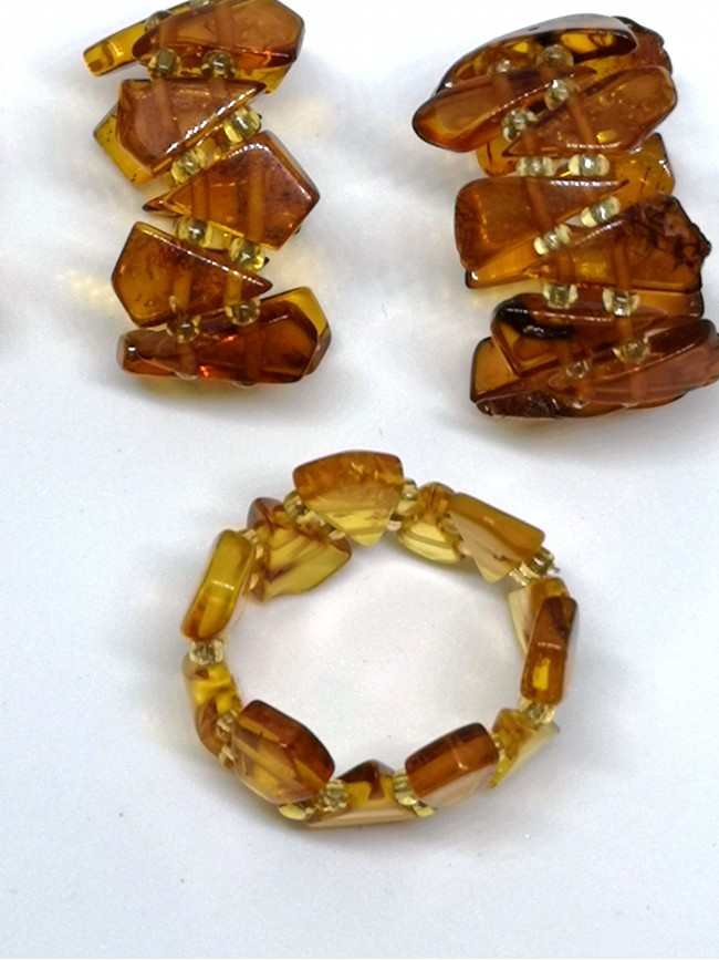 RN2 - Stretch Amber Ring