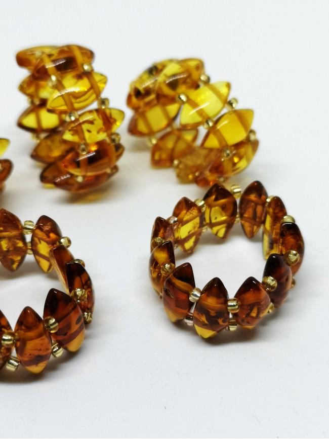 RN5 - anillo de ámbar elástico