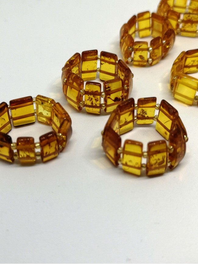 RN6 - Stretch Amber Ring